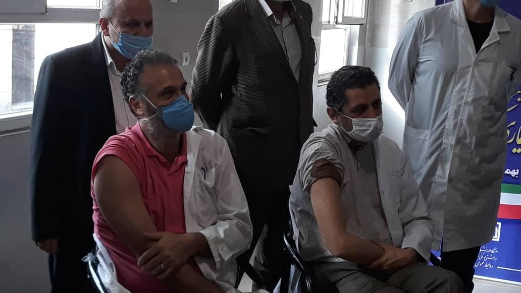 آغاز واکسیناسیون کرونا در استان قزوین
